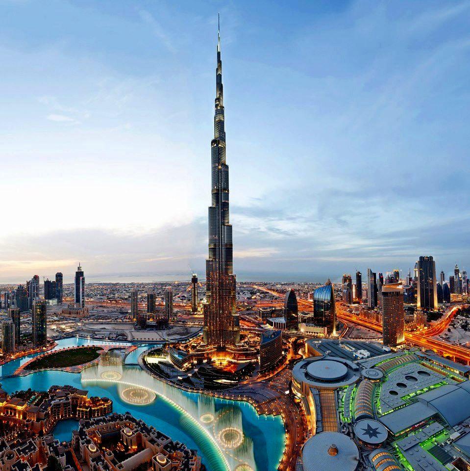 Бурж Халифа - кулата в Дубай