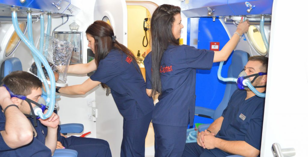 Лечение с кислород в HBO Medical Support Center
