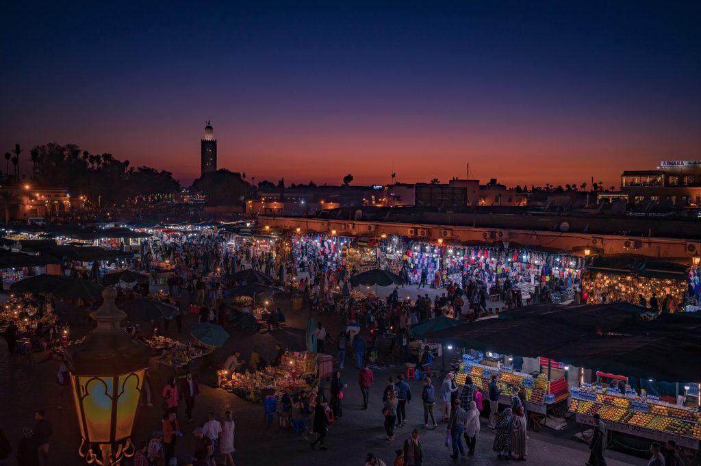 Маракеш, Мароко