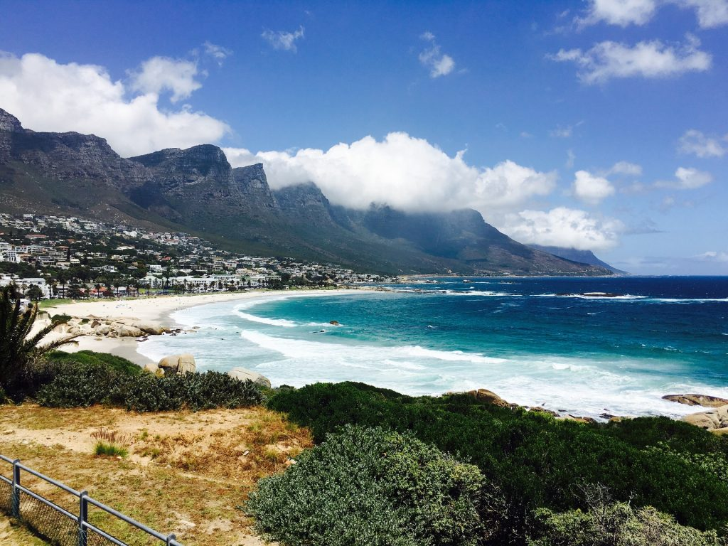 Camps Bay Beach, Кейптаун
